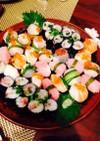 おもてなしに 手毬寿司☆握り寿司