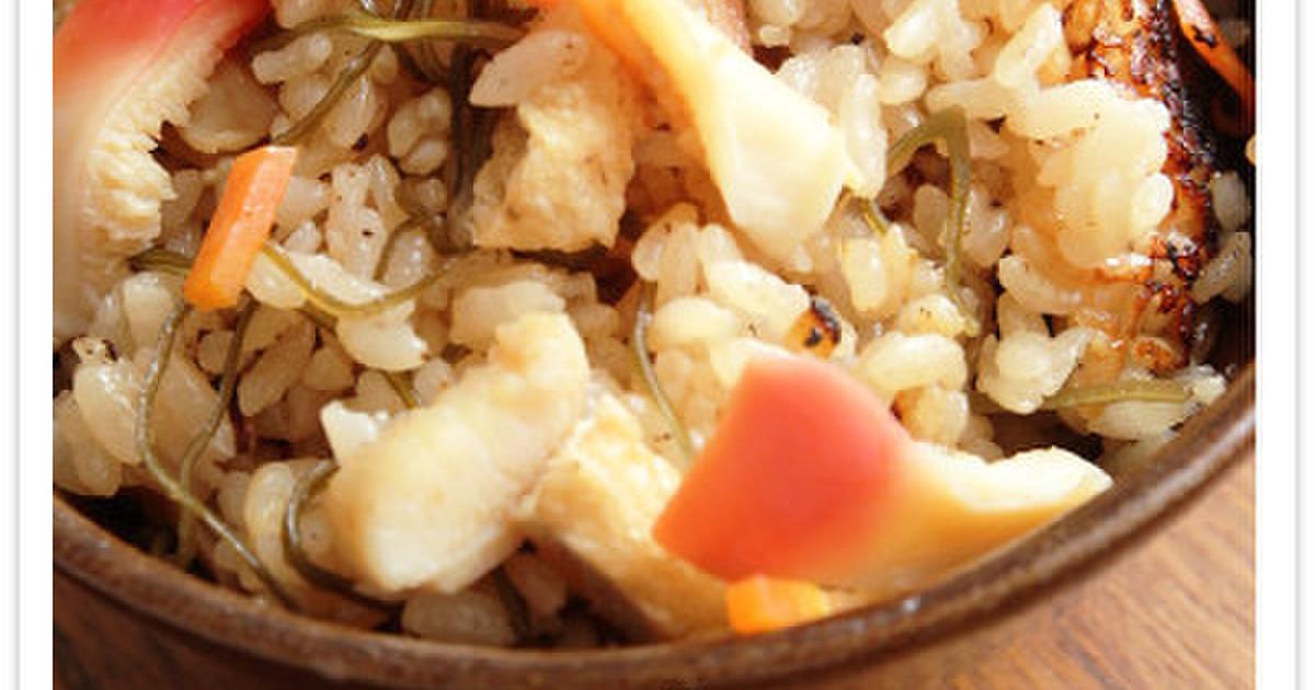 北海レシピ!旨味たっぷりホッキ飯