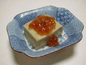旬の枝豆豆腐