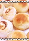 手捏ね2分菓子パン生地♪レンジで簡単発酵