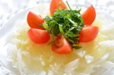 シンプルに☆新玉ねぎのチーズサラダ