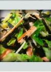 ■簡単副菜■キャベツかにかま海苔あえ減量
