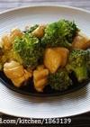 簡単♪鶏肉とブロッコリーのカレーマヨ炒め