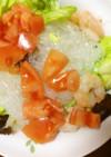 春キャベツと春雨の和え物風サラダ