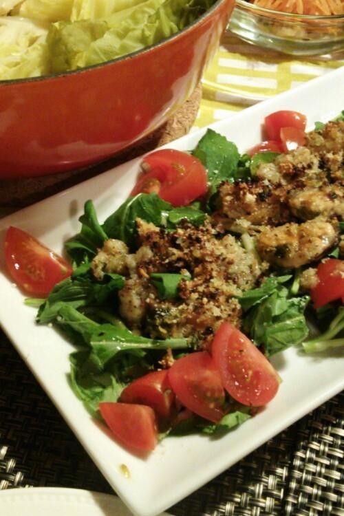 ムール貝のサラダ