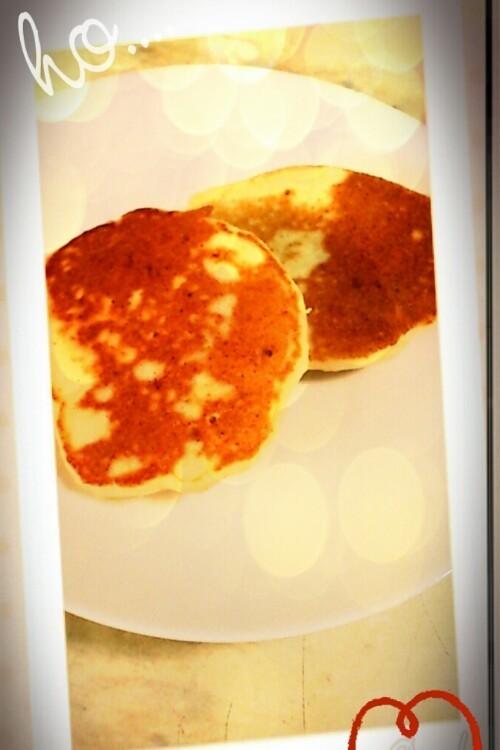 離乳食後期 おからパンケーキ