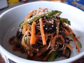絶品野菜とひじきのオイスタードレッシング