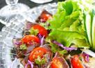 鮪や鰹・牛肉タタキでサラダカルパッチョ