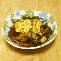 常備菜に☆きざみ昆布と大豆の煮物