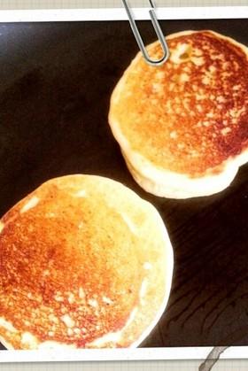 小麦卵アレルギー対応☆米粉のホットケーキ