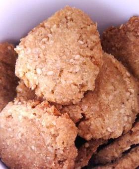 胡麻ブレッドクッキー