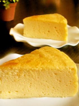 簡単ふわしゅわスフレチーズケーキ