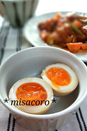 m簡単☆ラーメン屋の煮卵