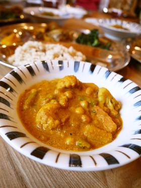 本場のベジタブルカレー:ネパール料理