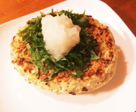 ダイエットの味方☆豆腐と蓮根のハンバーグ