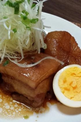 トロトロ豚の角煮~大根・卵添え~