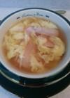簡単!ふわふわ卵の洋風スープ
