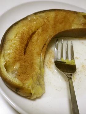 私の簡単おやつ♪焼きバナナ