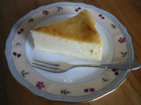 シュワふんわりなスフレのチーズケーキ♪