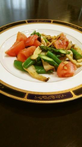 地中海式#イタリア風☆野菜のバジルソテー