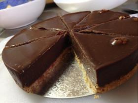 簡単 焼かない生チョコケーキ *