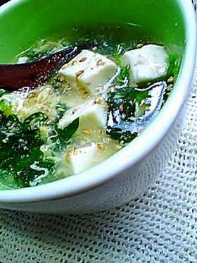 うちの定番☆朝食スープ