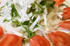 花粉症に*大根と大葉のサラダ