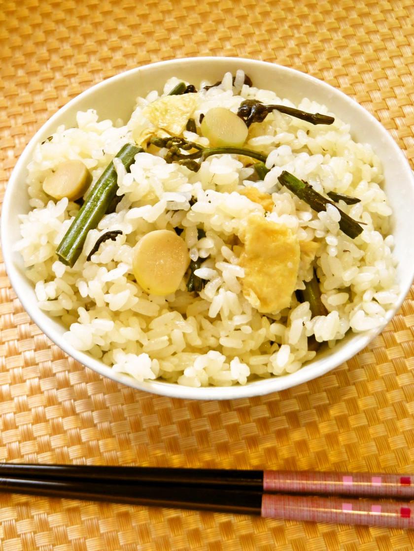 ☺白だしで超簡単♪炊飯器で山菜おこわ☺