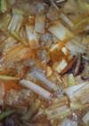 冬味♡ピリ辛味噌豆乳鍋