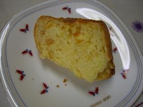 アンズジャムのパウンドケーキ