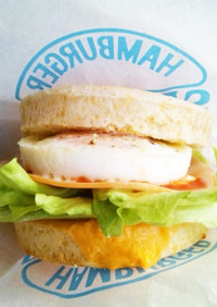 ●イングリッシュマフィンde簡単サンド●