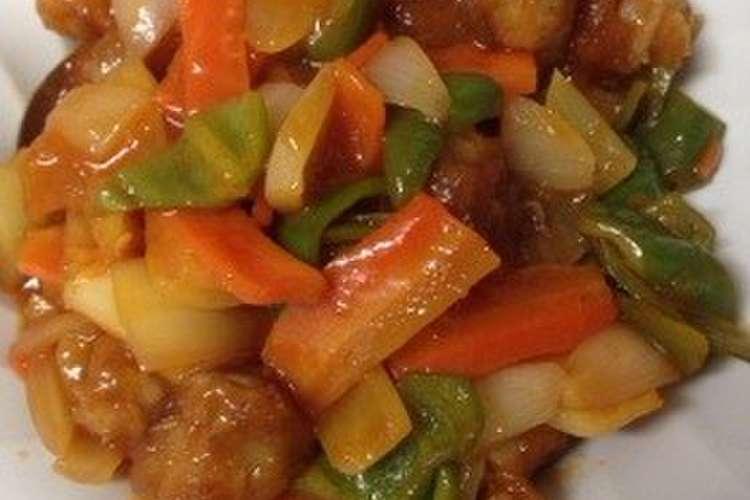 酢豚 簡単 レシピ