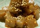 蒟蒻のピーナッツバター