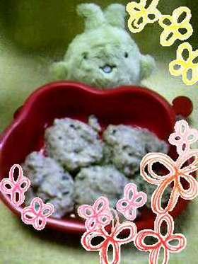 ★EASYいわしつみれin豆腐★