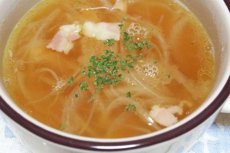作り方 コンソメ スープ の