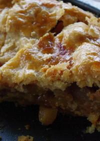 塩キャラメル味のアメリカンアップルパイ