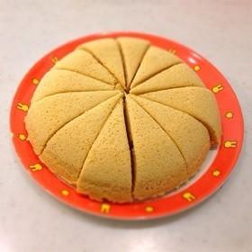 おからパウダーのレンジ蒸しパン〜メープル