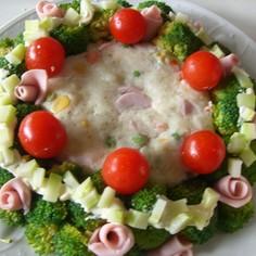 ☆お祝いの食卓に☆デコレーションサラダ