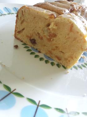 レーズン&ピールのクリチパウンドケーキ