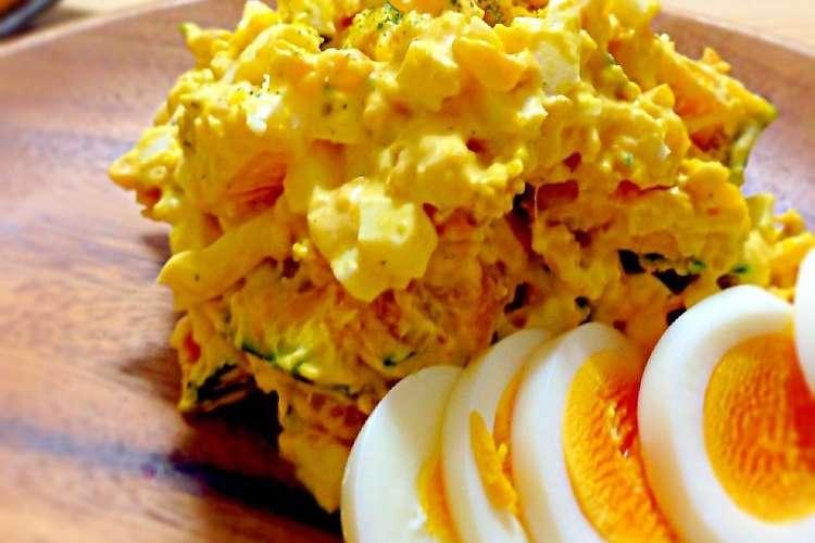 サラダ かぼちゃ 卵