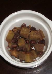 さつま芋と小豆の甘煮
