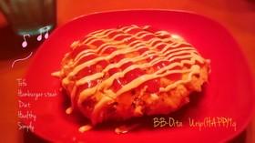 豆腐&ササミのハンバーグ(๑→ܫ←)