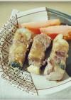 豚こまで*豆腐の肉巻き*生姜焼き