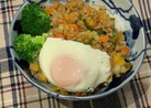 野菜たっぷり☆プルコギ風丼