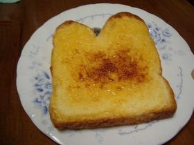 ニワトリ坊やのめんたいトースト