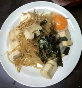 妄想メニュー バタ丼 東京芸大学食