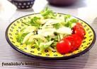 新玉ねぎと豆苗のさっぱり生姜サラダ