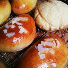 翌日もしっとりフンワリ菓子パン生地