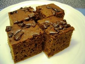 ほんのりアーモンド♪チョコチップケーキ