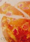 簡単☆し~っとり♡苺ベイクドチーズケーキ